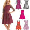 Sewing Pattern Dresses 6143