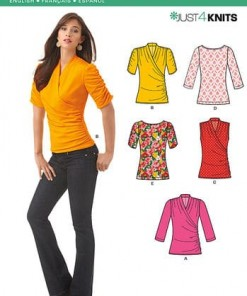 Sewing Pattern Tops Vests 6150