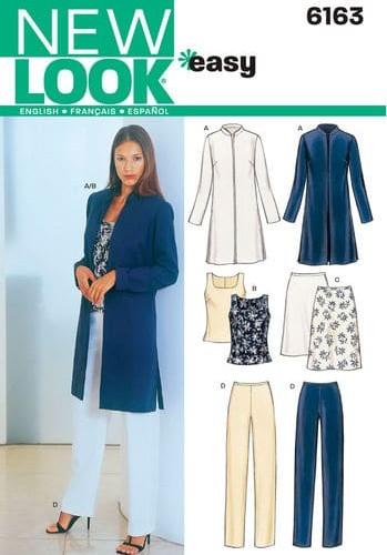 Sewing Pattern Sportswear 6163