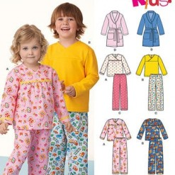 Sewing Pattern Sleepwear 6170