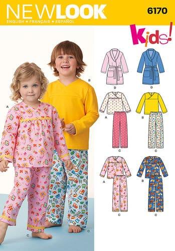 Sewing Pattern Sleepwear 6170