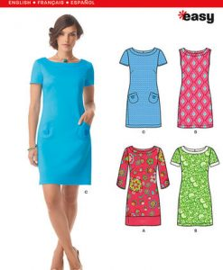 Sewing Pattern Dresses 6176