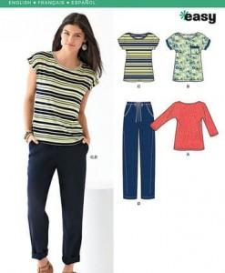 Sewing Pattern Sportswear 6216