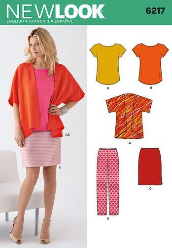 Sewing Pattern Sportswear 6217