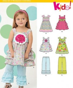 Sewing Pattern Dresses 6219