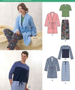 Sewing Pattern Sleepwear 6233