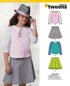 Sewing Pattern Sportswear 6241