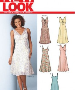 Sewing Pattern Dresses 6244