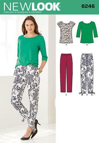 Sewing Pattern Sportswear 6246