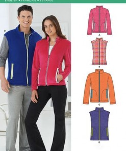 Sewing Pattern Tops Vests 6251