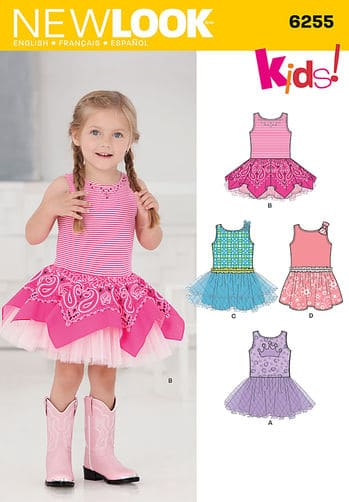 Sewing Pattern Dresses 6255