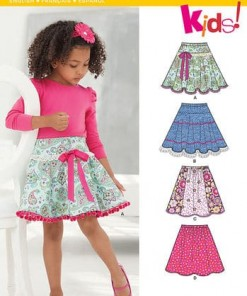 Sewing Pattern Skirts Pants 6258