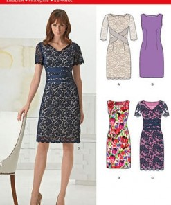 Sewing Pattern Dresses 6261