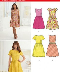 Sewing Pattern Dresses 6262