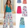 Sewing Pattern Skirts Pants 6271