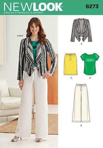 Sewing Pattern Sportswear 6273