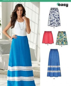 Sewing Pattern Skirts Pants 6287