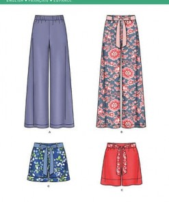 Sewing Pattern Skirts Pants 6289