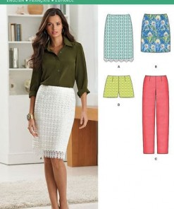 Sewing Pattern Skirts Pants 6290