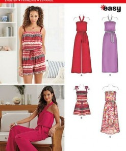 Sewing Pattern Dresses 6291