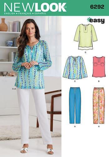 Sewing Pattern Sportswear 6292