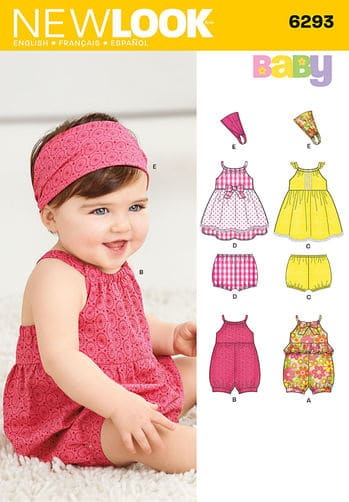 Sewing Pattern Dresses 6293