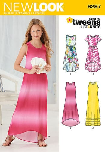 Sewing Pattern Dresses 6297