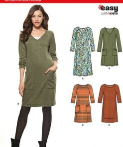 Sewing Pattern Dresses 6298