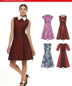 Sewing Pattern Dresses 6299