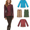 Sewing Pattern Jackets Coats 6308