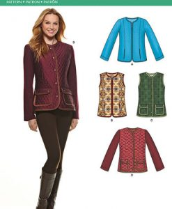 Sewing Pattern Jackets Coats 6308