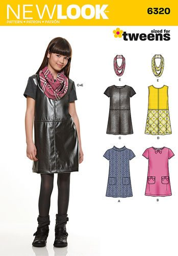 Sewing Pattern Dresses 6320