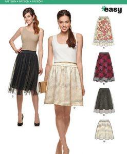 Sewing Pattern Skirt / Pants 6327