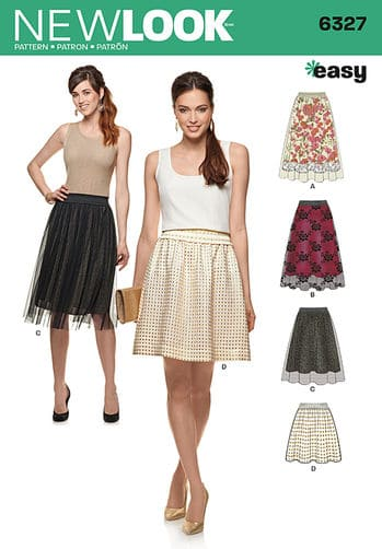 Sewing Pattern Skirt / Pants 6327