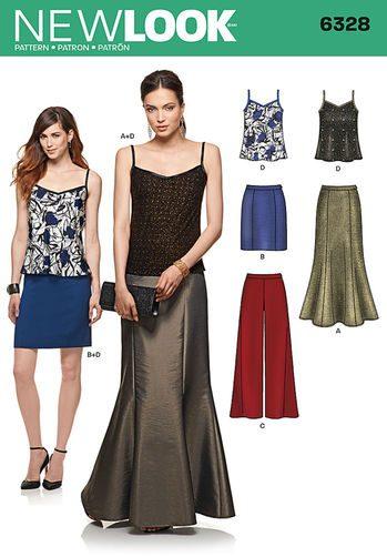Sewing Pattern Sportswear 6328