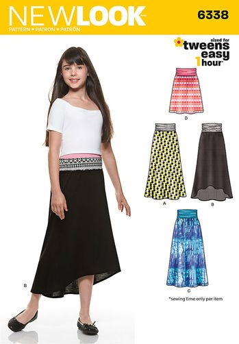 Sewing Pattern Skirt / Pants 6338