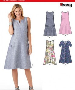 Sewing Pattern Dresses 6340