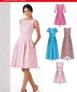 Sewing Pattern Dresses 6341