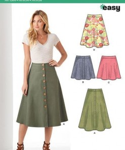Sewing Pattern Skirts Pants 6346