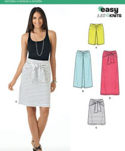 Sewing Pattern Skirts Pants 6348