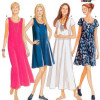 Sewing Pattern Dresses 6352