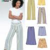 Sewing Pattern Skirts Pants 6354