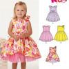 Sewing Pattern Toddler Dress 6355
