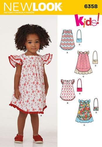 Sewing Pattern Dresses 6358