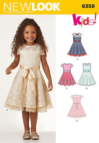 Sewing Pattern Dresses 6359