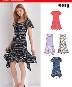 Sewing Pattern Dresses 6371