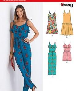 Sewing Pattern Dress 6373