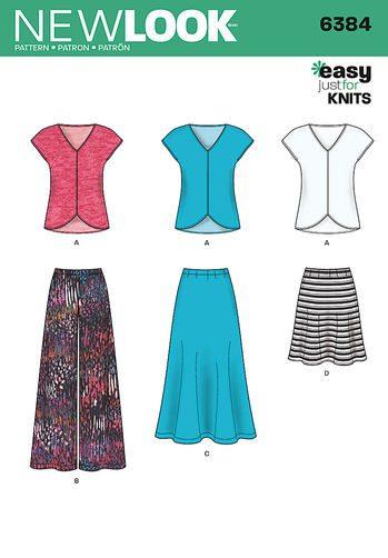 Sewing Pattern Sportswear 6384