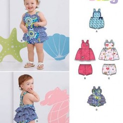 Sewing Pattern Baby 6385