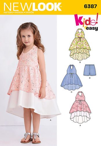 Sewing Pattern Dresses 6387
